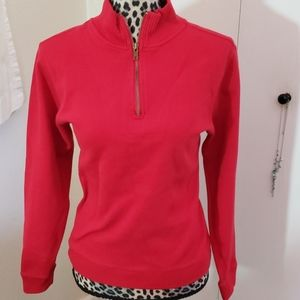 """""""Carolyn Taylor"""" Size L Red Sweater.."""
